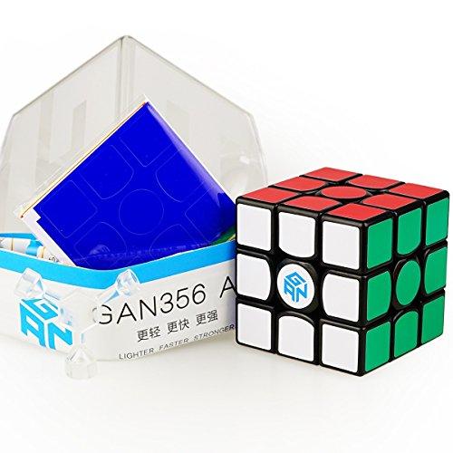 CuberSpeed Gan 356 Air 3x3 Black Speed Cube Gans