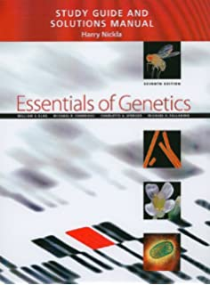 Essentials of genetics with study guide and solutions manual 7th study guide and solutions manual for essentials of genetics 7th edition fandeluxe Gallery