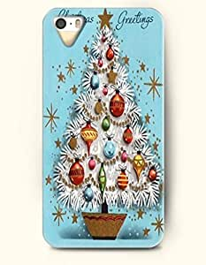 Merry Christmas Greetings From Xmas Tree - OOFIT iPhone 4 4s Case