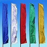 Radiant Heart East Prayer Flags ~10 Ft. Bhutanese Style ~ Set of 5 For Sale