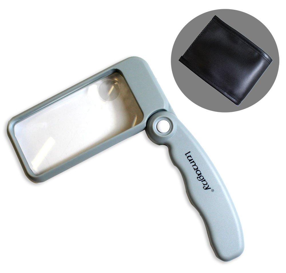 Lumagny 2x/4x Folding Illuminated Magnifier