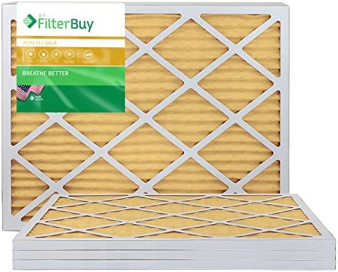 FilterBuy 24x24x1 Pleated Furnace Filters