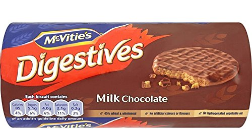 Mcvities Cookie Digestive Mlk Chocolate, 10.5 oz