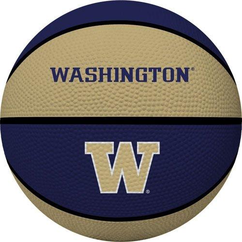 Collegiate Pacific Basketball (NCAA Washington Huskies Crossover Full Size Basketball by Rawlings)