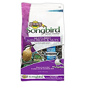 Audubon Park Songbird Selections 11980 Multi Wild Bird Food with Fruits and Nuts, 15 lb 70
