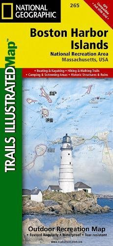 Boston Harbor Islands National Recreation Area (National Geographic Trails Illustrated - Boston Map Shopping