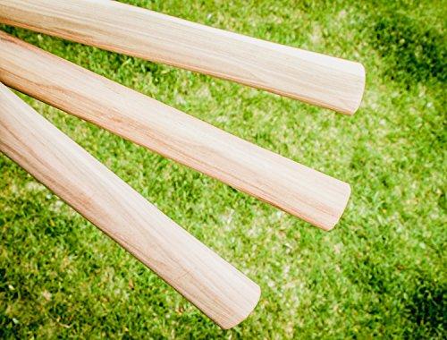 Large Throwing Tomahawk Handle Hickory Wood Axe Hatchet