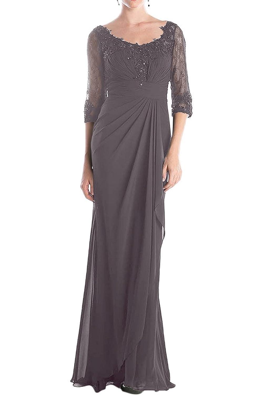 (ウィーン ブライド) Vienna Bride 披露宴用母親ドレス ロングドレス 結婚式母親用ドレス 半袖 レース フォーマルイブニングパーティー 8色 ウエディングパーティー B01MU0T69I  K 17W