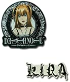 Death Note: Misa and Kira Anime Pins (Set of 2)