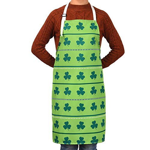 St. Paddy's themed apron