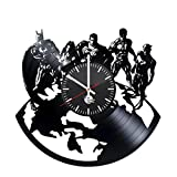 Cheap JUSTICE LEAGUE Figures Vinyl Record Wall Clock – Get unique room home decor – Gift ideas for men,women, boys and girls – Unique DC COMICS art design – Leave us a feedback and win your custom clock