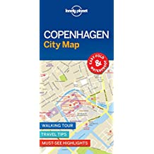 Lonely Planet Copenhagen City Map 1st Ed.