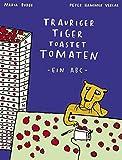 Trauriger Tiger toastet Tomaten: kleine Ausgabe