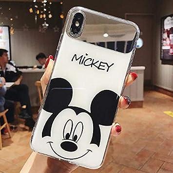 Espejo Dibujos Animados Mickey Minnie Parejas Cáscara Funda de ...