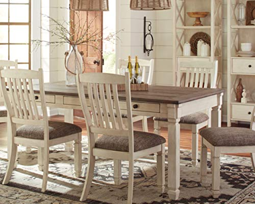 home & kitchen, furniture, kitchen & dining room furniture,  tables  image, Ashley Furniture Signature Design » Bolanburg Dining Room Table » Antique White promotion5
