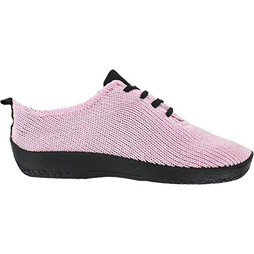 Arcopedico Womens LS Tie Knit Pink Oxford - 37
