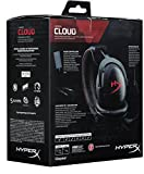 HyperX KHX-H3CL/WR Cloud Gaming Headset for PC, Xbox One, Xbox One S, PS4, PS4 Pro, Mac, Mobile and VR - Black