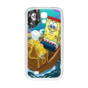 Happy SpongeBob Case Cover For samsung galaxy S4 Case