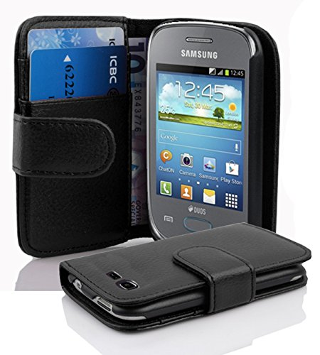 brand new 4df59 1792a Cadorabo - Book Style Wallet Design for Samsung Galaxy POCKET NEO (GT-S5310)