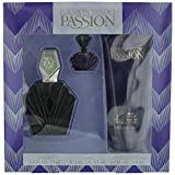 Passion By Elizabeth Taylor For Women, Set-edt Spray, 2.5-Ounce Bottle & Body Lotion 6.8-Ounce Bottle & Parfum .12-Ounce Bottle Mini