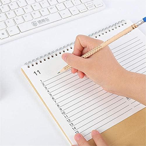 Foliner Schreibtischunterlage Kalender Stand Alone Schreibtisch Bürotisch Kalender Stand Up Bürotisch Planer Datum Notizblock Lehrerfamilie oder Geschäftsstelle