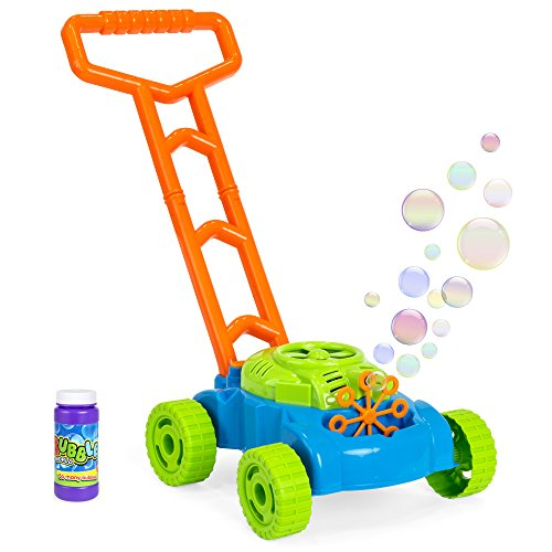 fisher price pink bubble mower - 5