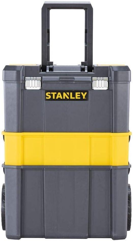 STANLEY STST1-80151 - Taller móvil para herramientas 3 en 1 con cierres metálicos, capacidad 20 kg: Amazon.es: Bricolaje y herramientas