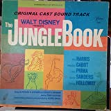 By Walt Disney The Jungle Book Original Cast Sound Track 1967 Vinyl LP