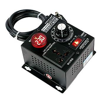 Regulador de voltaje eléctrico de 4000 W AC 220 V regulador de ...