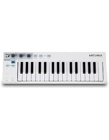 Teclado Arturia 430201 Keystep, de pequeño formato, 32 teclas, secuenciador por pasos polifónico