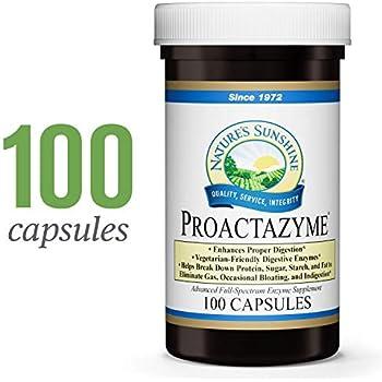 Amazon.com: Natures Sunshine Food Enzymes, 120 Capsules, 2 ...