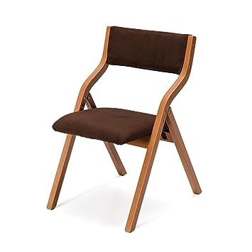 Chair QL sillones Plegables Silla Plegable casera de Madera ...