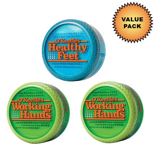 O'Keeffe's Working Hands Cream + O'Keeffe's Healthy Feet Cream :: Value Pack by O'Keeffe's by Gorilla Glue (Image #1)