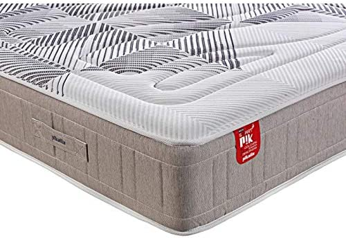 PIKOLIN – Colchón Inteligente E-Sleep Smartpik (Sistema de muelles y Material viscoelástico/Spring Mattress and viscoelastic Material) – Altura/Thickness: 30 cm (135x190 cm)