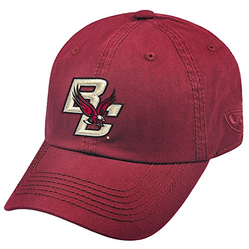Top of the World NCAA Boston College Eagles Men's Adjustable Relaxed Fit Team Icon Hat, Maroon