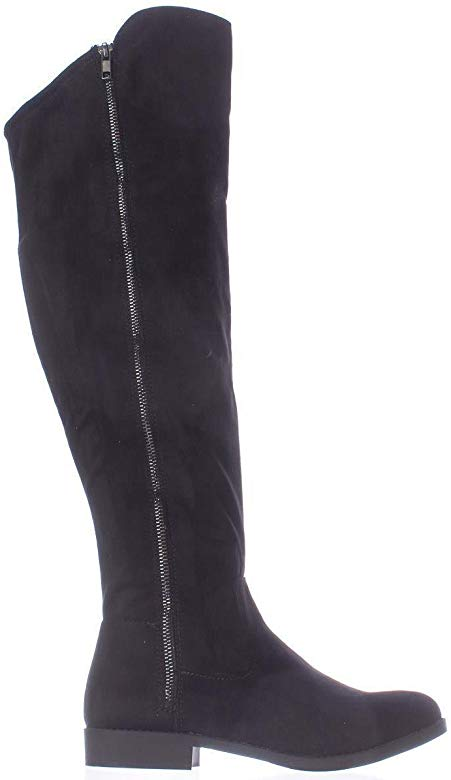 Material Girl Womens Carleigh Closed Toe Knee High Fashion Boots