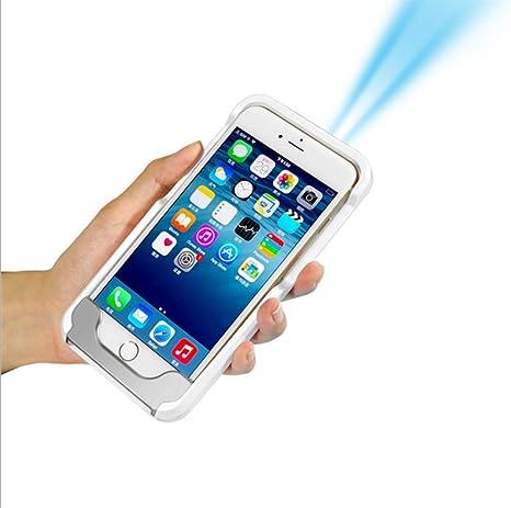Leizhi Mini Proyector Portable, Proyector Móvil G6 para Apple 6/6S ...
