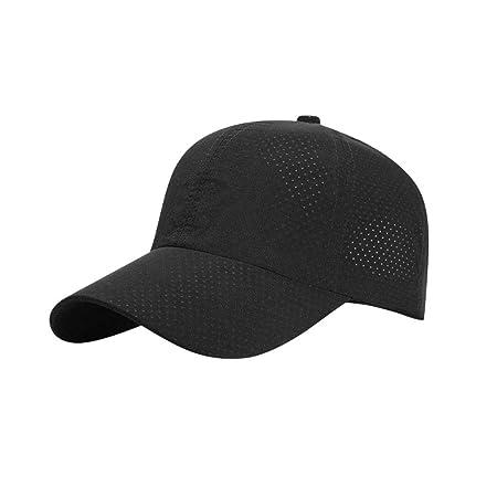 Gorras de béisbol unisex Viseras, Anti-UV Sombrero de golf de ...