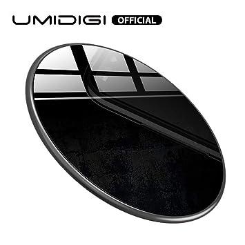 UMIDIGI Cargador inalámbrico 15W Qi Pad de Carga inalámbrica para One MAX/One Pro / Z2 Pro, iPhone XS MAX/XS/XR/X iPhone 8 Plus / 8, Samsung Galaxy y ...