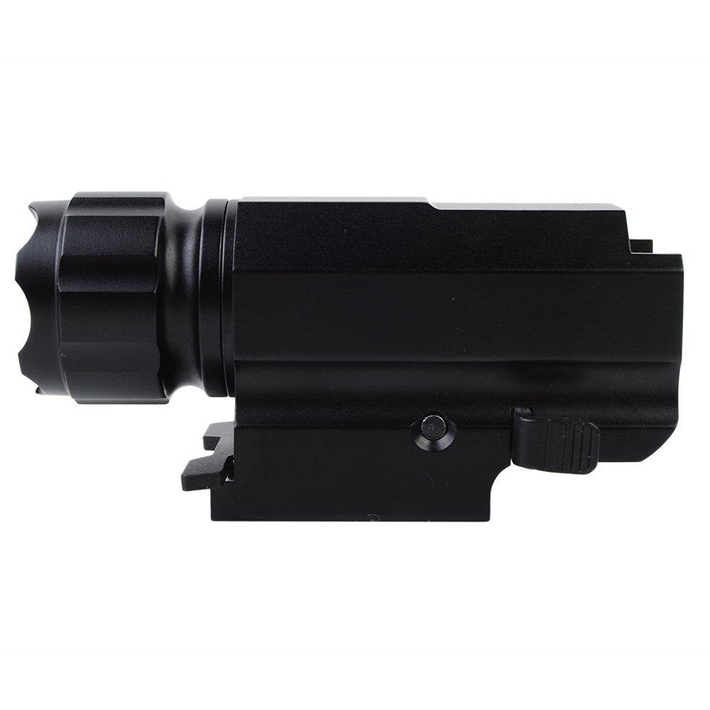 TrustFire P10 CREE XP-G R5 LED Tactical Gun flashlight aircraft-grade aluminum alloy 2 Mode 210 Lumens Fits Beretta PX4 M9A1 Glock 19 23 25 SR9 XD Compact Taurus 24/7 SIG P250 S&W SW99
