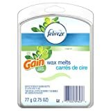 Febreze Wax Melts - Gain Original Scent - 6 Wax Melts Per Package - Pack of 4 (24 Wax Melts Total) by Febreze