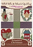 Anita Goodesign-Primitive Christmas-Mini Mix and Match Quilting-Embroidery Designs