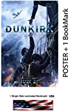 """Dunkirk (2017) - Movie Poster - Size 24""""x36"""" - Glossy Photo Paper (Harry Styles, Tom Hardy)"""