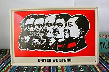 Grandes retratos mundo comunista ciudades carteles antiguos ...