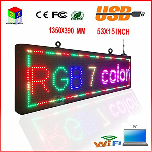P10 RGB led display / programmable computer's wireless / ...