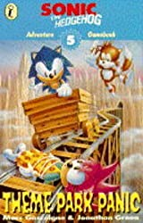 Sonic Adventure Gamebook: Theme Park Panic Bk. 5 (Puffin adventure gamebooks)