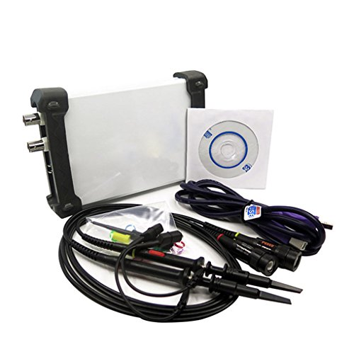 Aulley ISDS205A Dual Channel USB Digital Oscilloscop 20M Bandwidth 48M Sampling Spectrum Analyzer Data Recorder