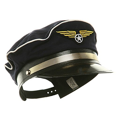 Adult (Airline Pilot Hat)