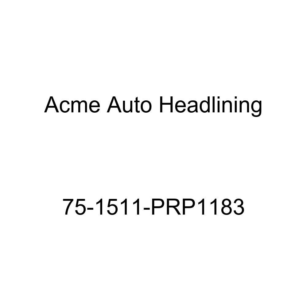 1975 Pontiac Catalina 2 Door Hardtop 5 Bow Acme Auto Headlining 75-1511-PRP1183 Dark Blue Replacement Headliner