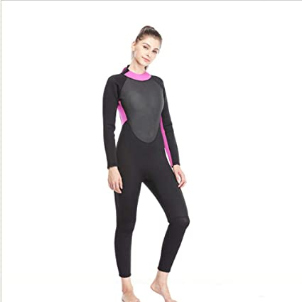 Amazon.com : Neoprene Womens Wetsuit, Surf Clothing Diving ...
